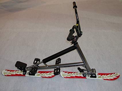 SNOWTER = Wintersportgerät, Snowbike, Schneegleiter für Driften, Sliden, Carven, Slalom, Freeride, Downhill.: Amazon.de: Sport & Freizeit
